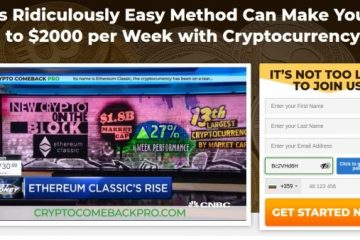 Crypto Comeback Pro Review