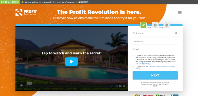 Profit Revolution Screenshot