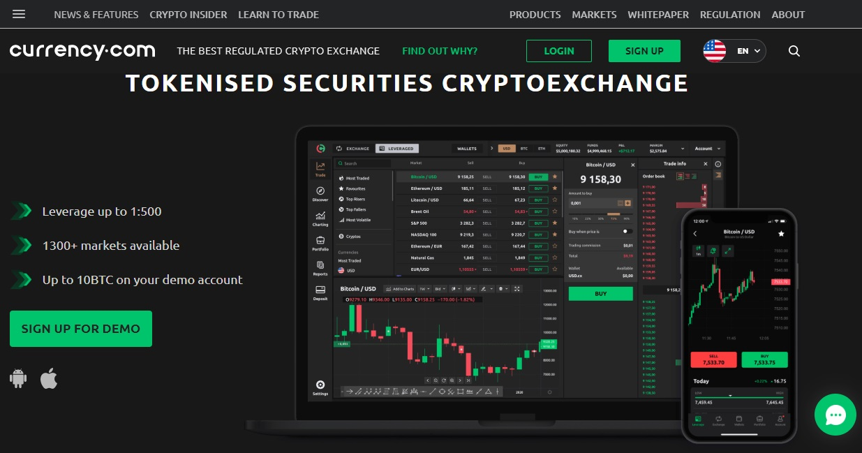 Currency.com Review