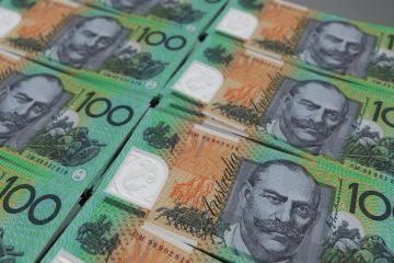 Australian Dollar Hits Two-Week Low