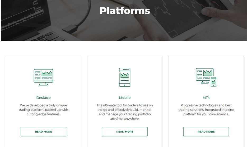 More about the different platforms