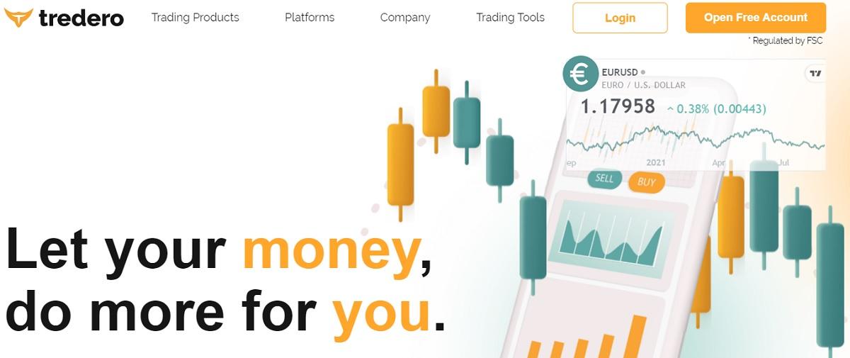 Tredero home page