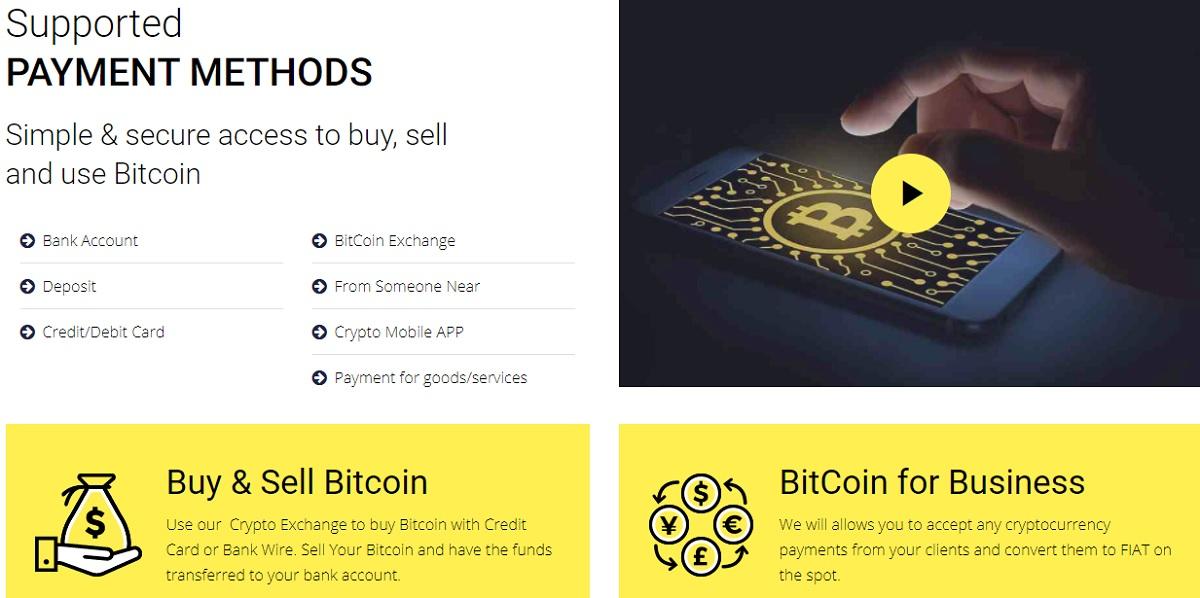 CryptoPayIn trading platform